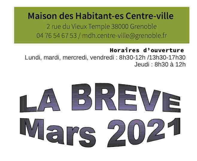 Brève de Mars – MDH centre-ville