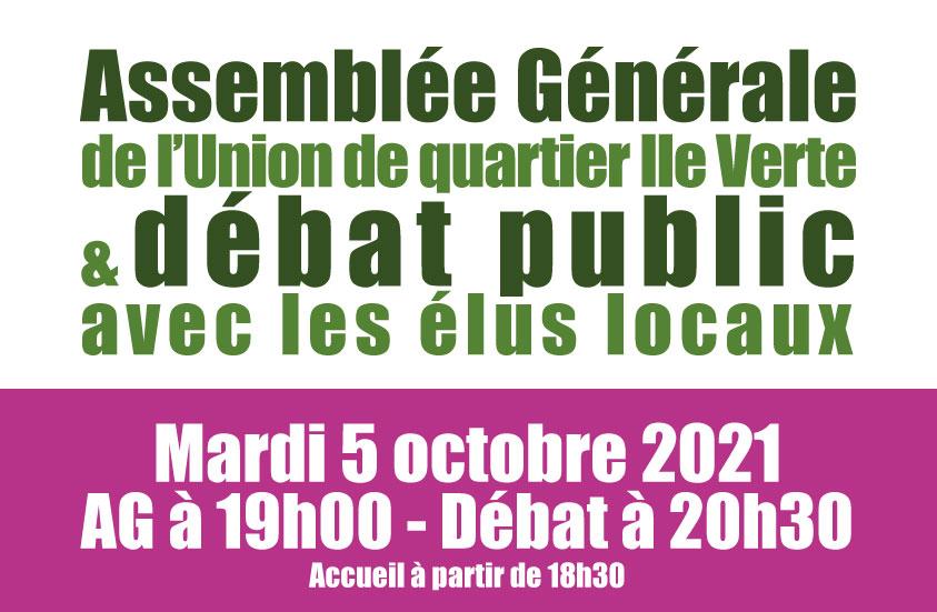 Assemblée Générale et débat public de l'UQIV